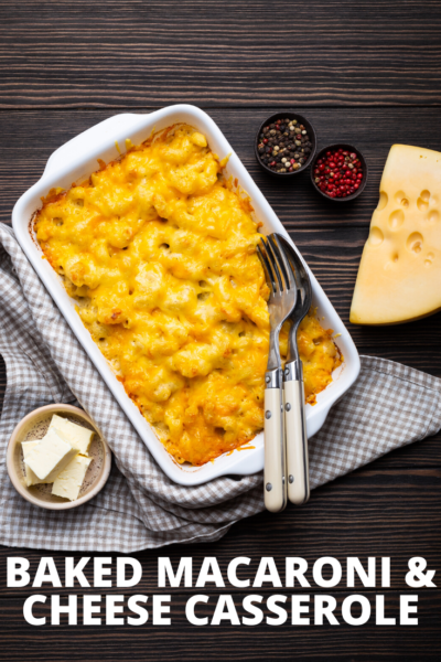 Baked Macaroni and Cheese with Cottage Cheese, Baked Macaroni and Cheese, Baked Pasta, Family Dinner Idea