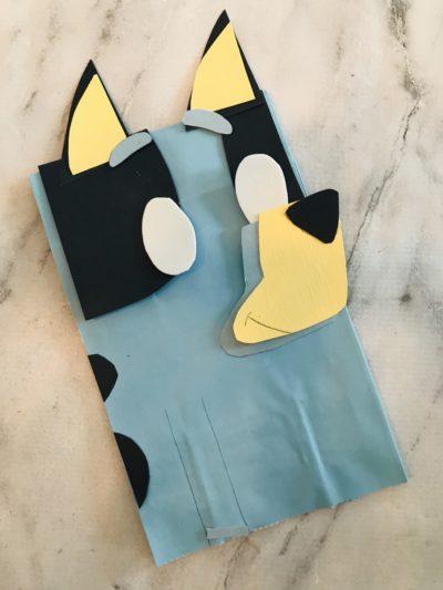 Bluey Craft, Kids Craft, Puppet Craft, Bluey BBC