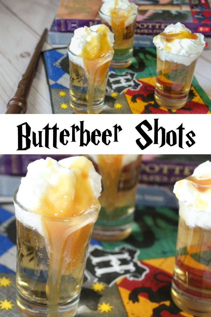 Harry Potter Butterbeer Shots - Life. Family. Joy