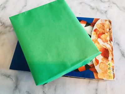 Wrapping boxes, How to wrap boxes, re-using boxes for crafts