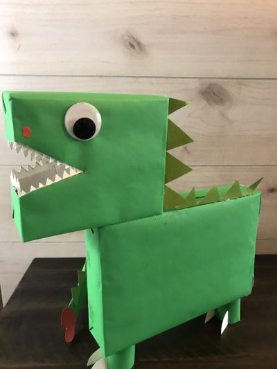 Kids Craft, Valentines Day Craft, Kids Craft With Dinosaurs