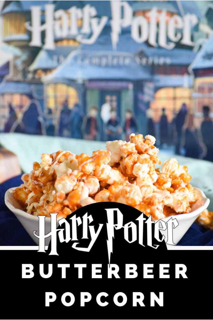Harry Potter Butterbeer Popcorn