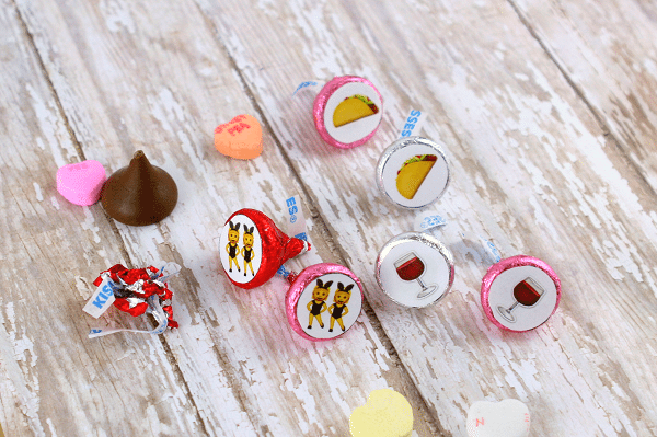 DIY Hershey Kiss Emoji Memory Game