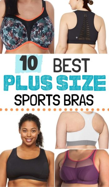 Don't let your curves stop you from getting fit! Here are the top rated plus size sports bras that offer maximum support, comfort and style. #PlusSize #Running #RunningTips #FitnessMotivation #FitnessTips #RunningTips