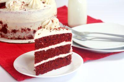 layered red velvet cake, red velvet cake recipe, red velvet cake mix, southern dessert recipe, red velvet dessert