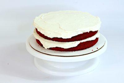 Red Velvet Cake, Red Velvet Dessert, How to Layer A Cake