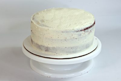 Layered Cake, Smoothing A Layered Cake, Frosting A Cake