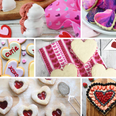 25 Valentines Day Cookie Recipes To Make (Bake + No Bake)
