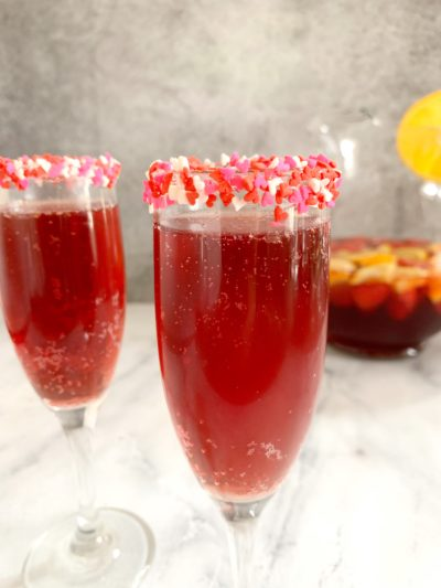 Valentines Day, Easy Valentines Day Punch, Sparkling Punch, Valentines Day Cocktail