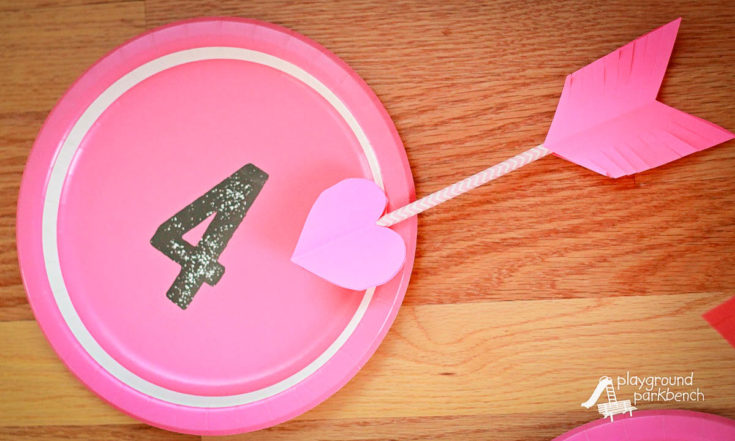 Valentine's Day Game: Cupid's Arrow Toss