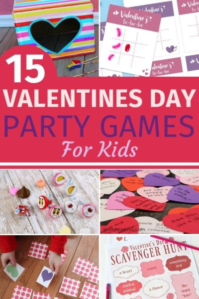 Need some Valentines Day Games party ideas? These are perfect for kids of all ages for a Valentines Day Classroom party or just to have fun. #ValentinesDay #ValentinesDayKidsGames #ValentinesDayPartyGames #ValentinesDayClassroomGames