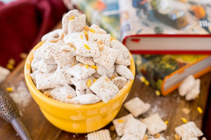 Harry Potter Butterbeer Muddy Buddies