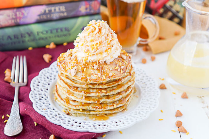 Harry Potter Butterbeer Pancakes