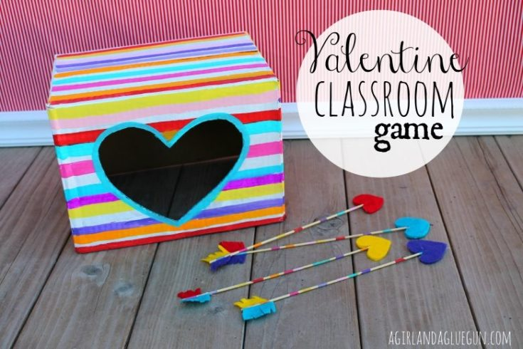 Valentine Classroom Game: Shoot The Box