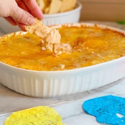Savory Chicken Enchilada Dip Recipe (Everyone Will Ask You To Make It)