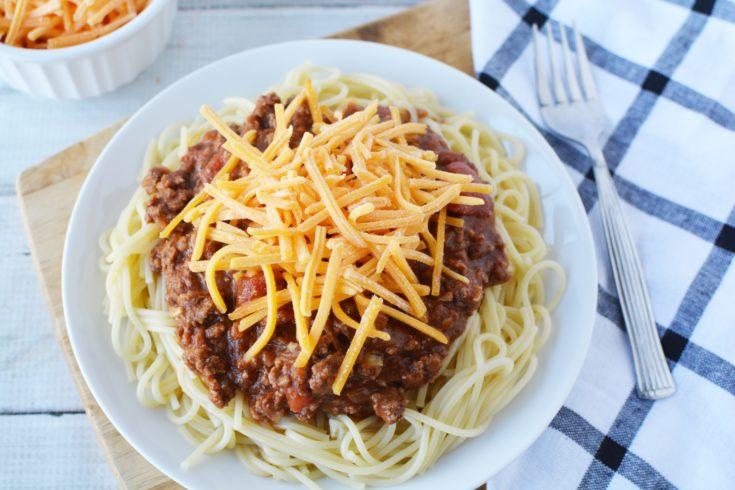 Easy 5 Way Cincinnati Chili Recipe (Just Like Skyline)