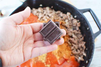 Cincinnati Chili With Dark Chocolate, Chili With Chocolate, Cincinnati Chili Recipe
