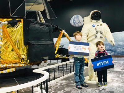 Apollo 11 Exhibit At The Computer Museum Of America