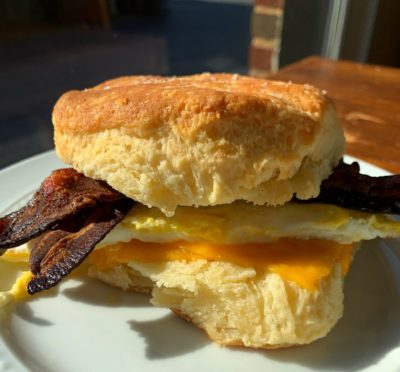 Biscuit Sandwhich, Gracious Plenty Biscuit, Roswell Restaurants