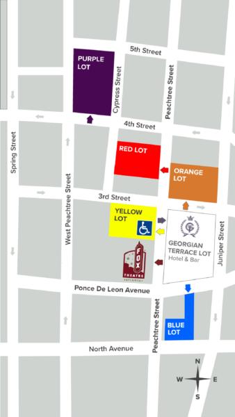 Fox Theatre Parking, Where To Park Near Fox Theatre