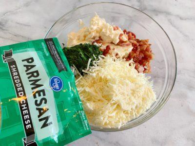 Spinach Dip, Easy Dip Recipe, Baked Dip Recipe, Hot Dip Recipe, Cheesy Dip Recipe
