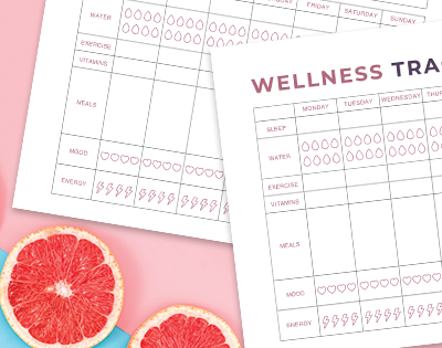 Printable Wellness Tracker Tool: How Small Changes Lead To Big Results