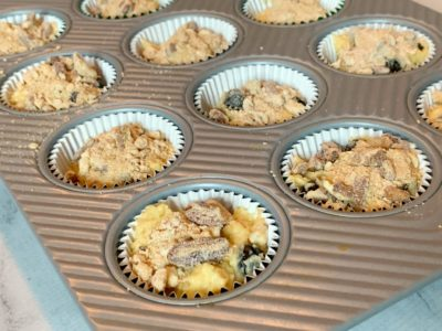 Muffin Recipe, Muffin Recipes, Blueberry Muffins, Easy Streusel Muffins