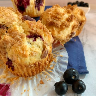 Blueberry Streusel Muffins With The Crumb Topping You Love