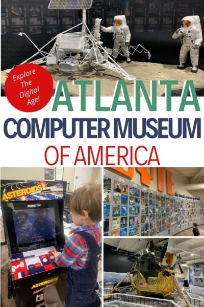 Check out the coming of the digital age at the Computer Museum of America in Roswell, Georgia (north of Atlanta). Featuring an Apollo 11 tribute and thousands of tech artifacts, it's a great destination for families. #Atlanta #FamilyTravel #Tech #TechGear