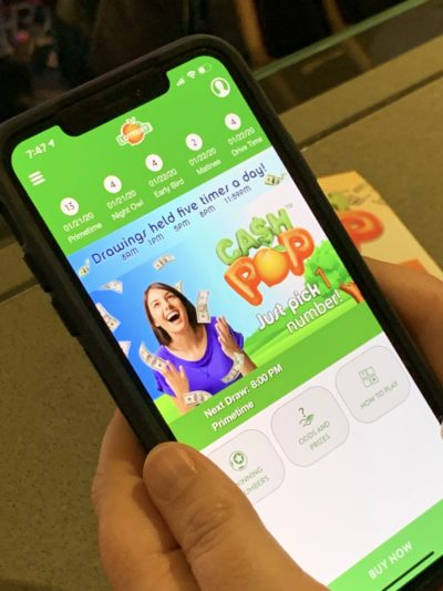 Georgia Lottery, Georgia Lottery Games, Cash Pop Mobile Lottery Game