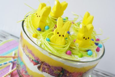 Easter Dessert Trifle Recipe With Peeps