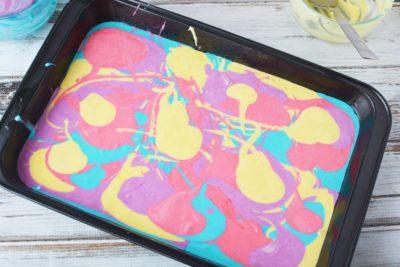 Color Cake Batter, Tye Dye Cake Batter