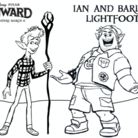 "Disney Pixar ""Onward"" Coloring Pages (Printable & FREE)"