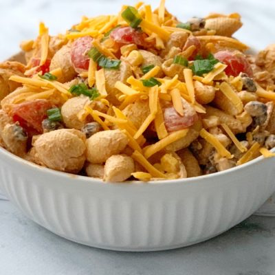 Taco Pasta Salad Recipe (Made With Shells & No Lettuce)