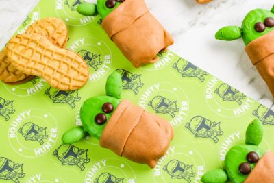 Baby Yoda Cookies, No-Bake Baby Yoda Cookies, Star Wars Cookies
