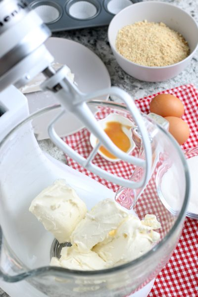 Mixing Cream Cheese For Cheese