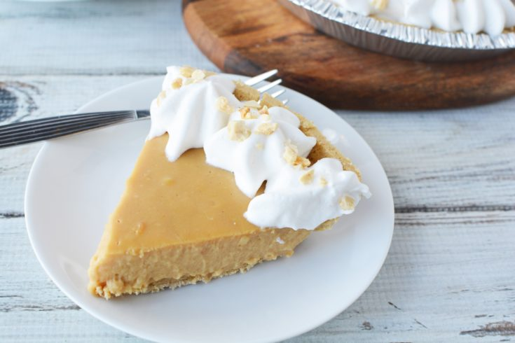 Peanut Butter Pudding Pie, No Bake Peanut Butter Pudding Pie Recipe