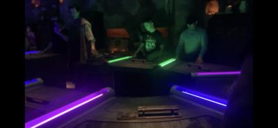 Building a custom lightsaber in Hollywood Studios, Galaxy's Edge Lightsaber Build, Savi's Workshop Lightsaber Build, Custom Lightsaber Experience at Hollywood Studios