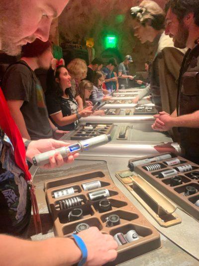 Galaxy's Edge Lightsaber Build, Savi's Workshop Lightsaber, Hollywood Studios Lightsaber