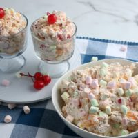 Easy Ambrosia Salad Recipe That's Sweet & Colorful