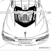 Free Corvette Coloring Pages For The Chevy Fan In All Of Us