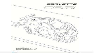 Corvette Coloring Pages, Free Coloring Pages For Boys