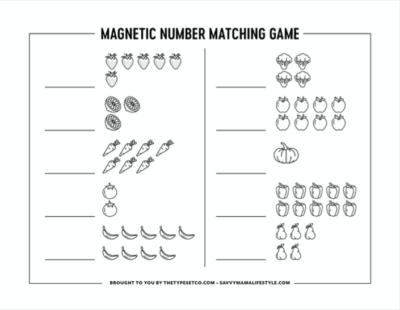"Printable ""Learn To Count"" Numbers Worksheet For Preschoolers"