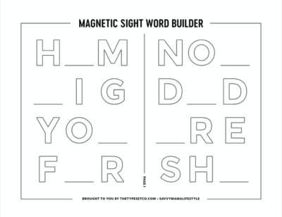 Printable worksheets for Kindergarteners