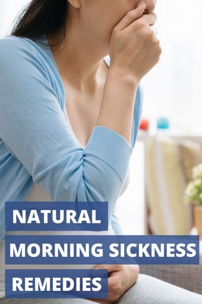 Suffering from morning sickness? These 5 all-natural morning sickness remedies will help you feel less nauseated in your first trimester. #Pregnancy #Health #Wellness #FirstTrimester #HealthyPregnancy