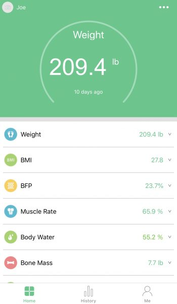 Maternity Scale, FitTrack Scale, Infant Scale