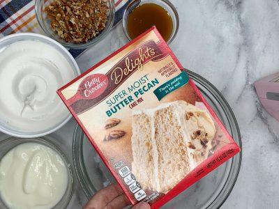 Caramel Butter Pecan Cake Mix Recipe Ingredients