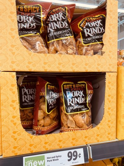 Lidl Keto Pork Rinds, Low Carb Keto Grocery Shopping
