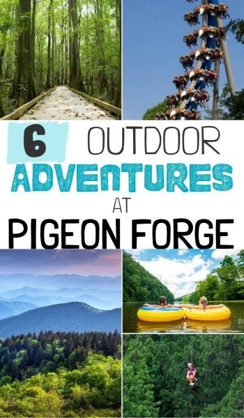 #AD Find your own outdoor adventure in Pigeon Forge, Tennessee! I've rounded up the BEST outdoor activities for families with tips for adding them to your vacation. #MyPigeonForge