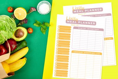 printable weekly meal planner, How To Plan Weekly Family Meals